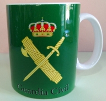 TAZA  EMBLEMA GUARDIA CIVIL